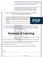 contract of learning