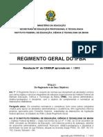 regimento_IFBA_03_0_2012