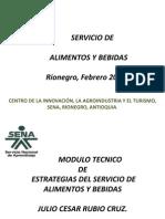 Áreas Para el Servicio (Julio)