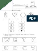 prueba simetria 4º basico