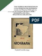 LIVRO AGB Fundamentos Teorico-Metodologico Do Ensino e Da Pesquisa Em Geografia (1)