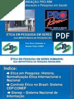 Etica Em Pesquisa Clinica Fundacao Pro Rim
