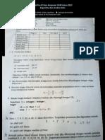Soal Pra S2 IlKom UGM - Algoritma & Struktur Data