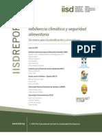 Resiliencia climática y seguridad alimentaria.     Un marco para la planificación y el monitoreo