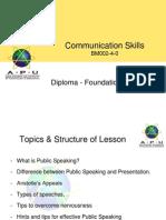 (4) Presentation Skills Public Speaking - 2