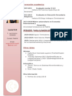 Curriculum Vitae Lucia (1)