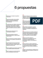 Las 95 Propuestas