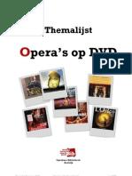 Themalijst opera's Op DVD - mei 2009