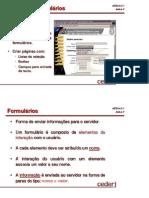 Aula_007 - Criação de Formulários