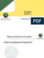 EN25.Preparing for Lectures