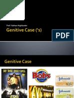 AULÃO - Genitive Case ('s)