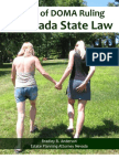 Effect of DOMA Ruling on Nevada State Law