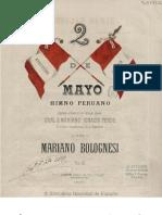 Himno Peruano 2 de Mayo_Mariano Bolognesi
