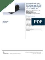 Iso - Rh Helical Gear 0.25m 12t 45ha 20pa 12fw ---12a75h50l5n-Estudio 1-2