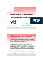 Pavement Distress Modes
