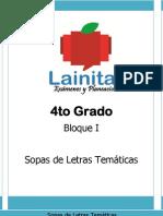 4to Grado - Bloque 1 - Sopa de Letras (1)