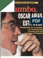 La soledad de Oscar Arias