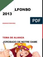 San Alfonso 2013 SIN CASA