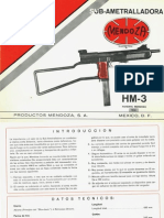 Mendoza HM 3 Brochure Spanish