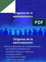 2.2 - Adm - Origenes de La Administracion