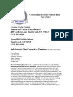 Safe Schools Plan