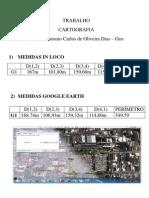 Trabalho Cartografia Professora Patricia