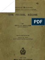 Feudalrgime01seig Feudalismo Regime. Livro 1.