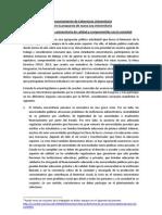 Coherencia Universitaria. Sobre La Propuesta de Nueva Ley Universitaria