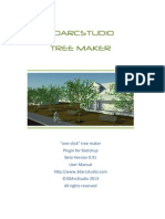 3DArcStudio Tree Maker User Manual