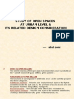 study of open spaces