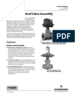 Fisherr D4 Control Valve Assembly