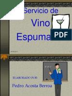 b e Servicio de Vino Espumante 4