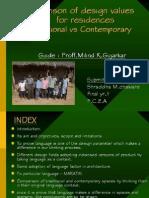 Seminar-Comparison of Design Values