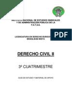 3-¦ DERECHO CIVIL II