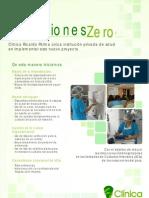 Afiche Proyecto Infecciones Zero