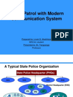 Modernisation of Police Networks