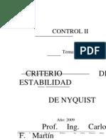 Criterio de Nyquist