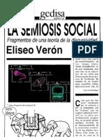 Veron Eliseo - La Semiosis Social