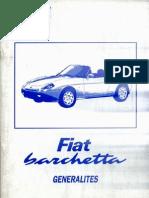 Fiat Barchetta Generalites