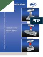 GWC Valve International - needle and gauge valves