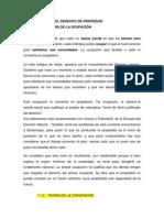 TEORÍAS DEL DERECHO DE PROPIEDAD