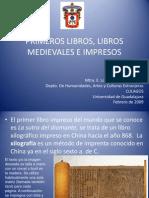 Libros Medievales e Impresos