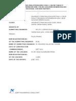UUM Checker Report