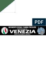 Striscione Venezia