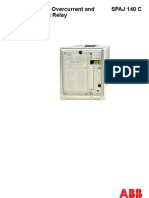 OVERCURRENT ABB MAKE SPAJ 140 MANUAL.pdf