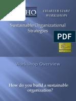 Sustainable Organizational Strategies