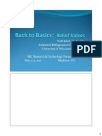 Back to Basics Relief Valves