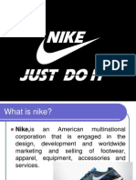 Nike company profile and manufacturing process
