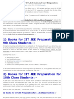 List of Best Books for IIT JEE Main_Advance Preparation 2014 _ Live Like Royal