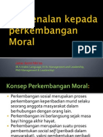 Pengenalan Perkembangan Moral (1)
